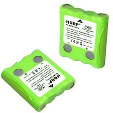 2-Pack HQRP Battery for Cobra FRS70 FRS80 FRS85 FRS100 FRS104 FRS105 FRS110