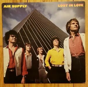 Air-Supply-Lost-in-Love-Vinyl-LP-Arista-Records-1980-AL-9530-KENDUN-A-B-NM
