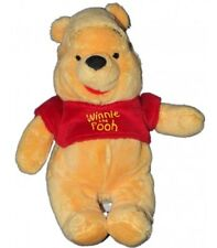 Peluche Doudou Winnie l'Ourson Pull rouge The Pooh 26 cm Disney Nicotoy 587/8892