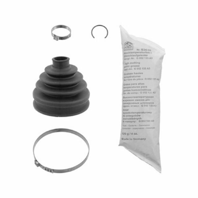 Driveshaft CV Joint Boot Kit fits BMW X5 E53 Front Outer 3.0 3.0D 00 to 06 C.V
