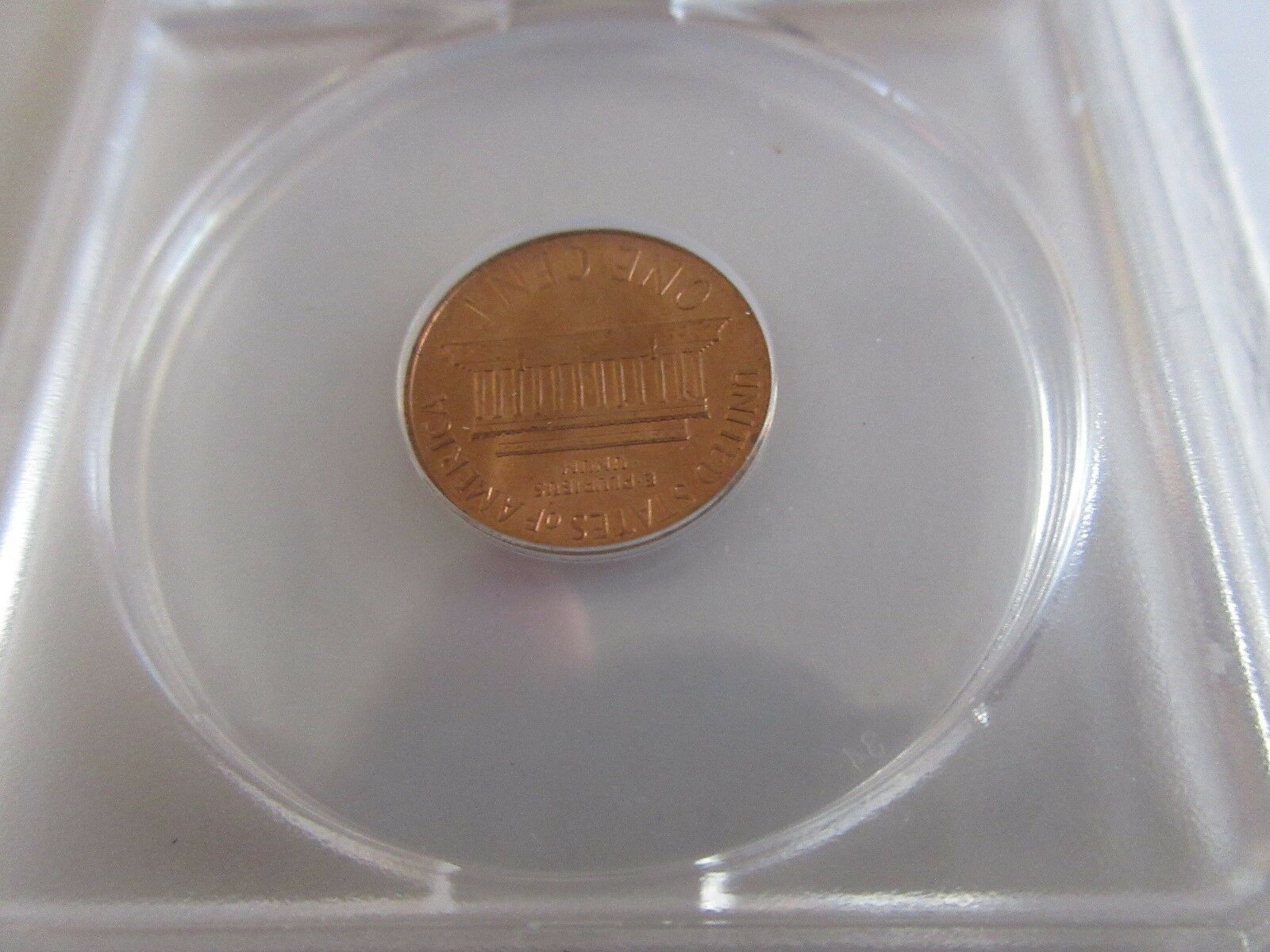 1968-S , Lincoln Penny , MS 64 , RED , Anacs