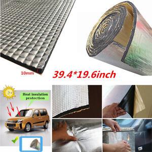 39 19 6 Aluminum Car Interior Heat Sound Insulation Pads Foam