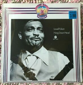 LOWELL FULSON VINYL hung down head LP1987 SEALED Imp ITALY blues Reconsider Baby