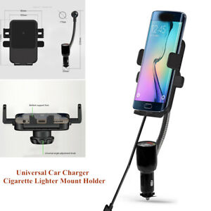 QI-Wireless-Dual-USB-Car-Charger-Holder-Mount-w-Cigarette-Lighter-for-Cell-Phone