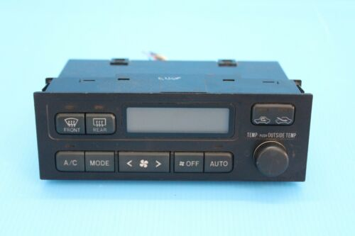 JDM Toyota Chaser Grande MARK2 JZX100 OEM A//C Digital Climate Control Unit Assy
