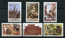 Tanzania 1998 MNH Zanzibar Tourist Attractions 6v Set Tortoises Monkeys Stamps