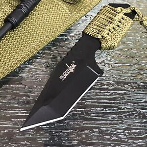 "7"" Survivor Sharp w / Fire Starter Fixed Blade Survival Knife, Sheet Colors vary"