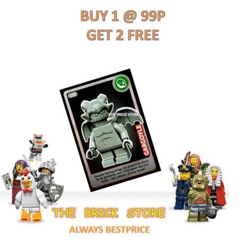 GIFT BESTPRICE CREATE THE WORLD TRADING CARD NEW GARGOYLE #116 LEGO