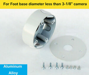 Metal CCTV Security Camera Mount Junction Box For Dome 3.6mm Connector Housing