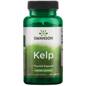 SWANSON-KELP-Jod-225-mg-250-Tabletten-SUPER-PREIS