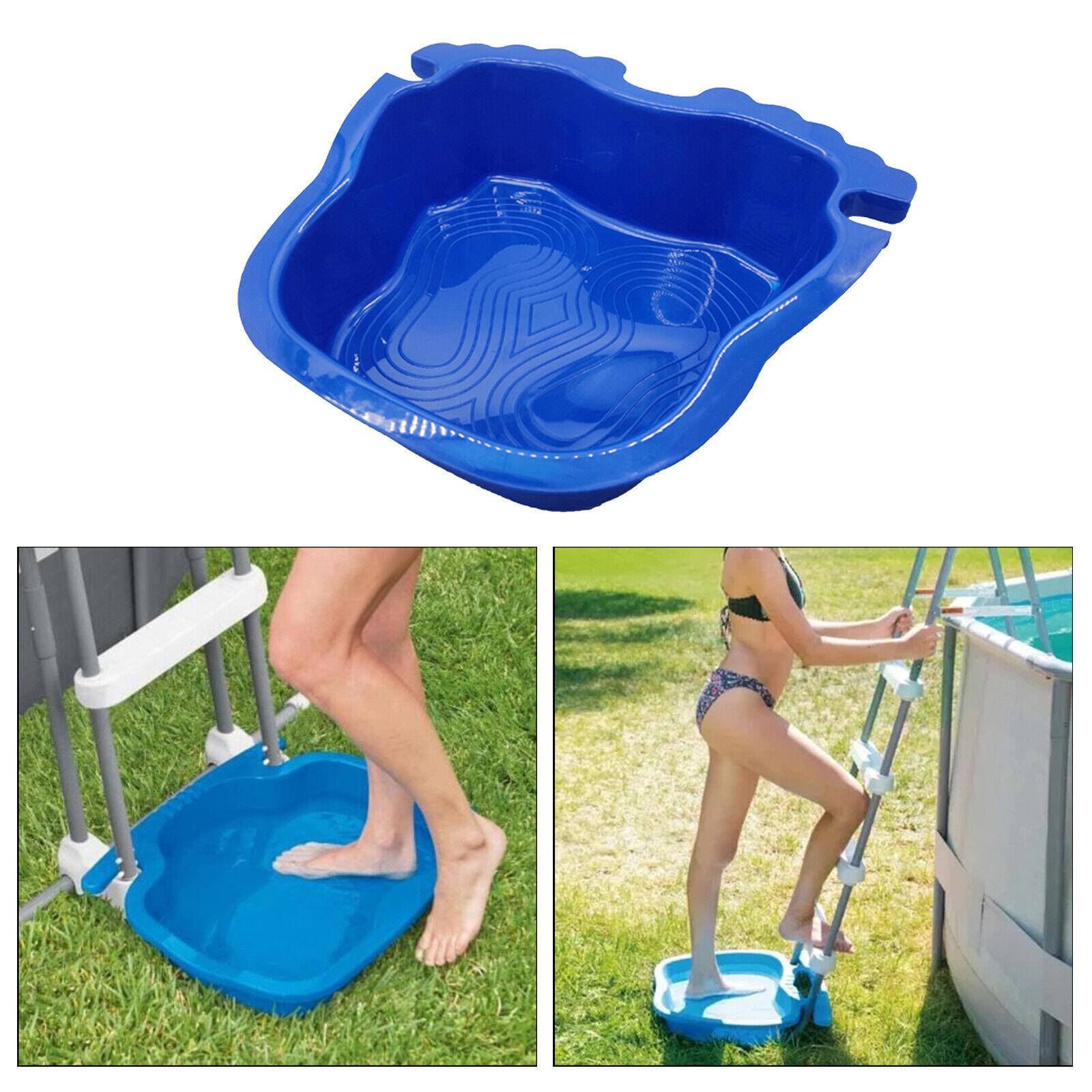 Plastic Pool Foot Bath Tray Pool Tray Bath Bucket Swimming Pool Backyard