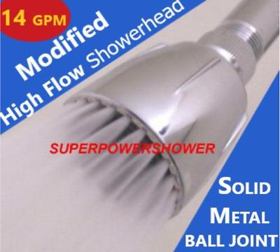 Original Modified High Flow Shower Head 14 Gpm Soft High