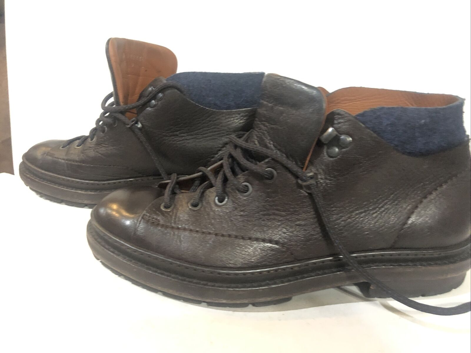 Ermenegildo Zegna used mens ankle boots Size 8 1/2 Good condition