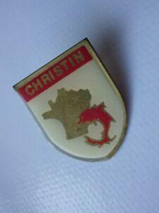 Pin-S-Vintage-Pins-de-Solapa-Coleccionista-Publicidad-Christin-Lote-094