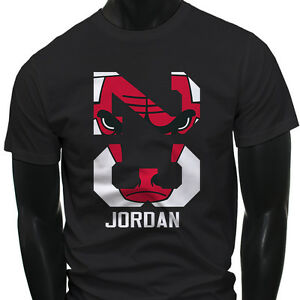chicago bulls michael air legend 23 jordan mens black t shirt. Black Bedroom Furniture Sets. Home Design Ideas