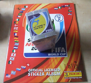 18997a41e Panini 2010 South Africa WC World Cup Complete Loose Sticker Set + ...
