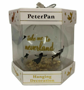 Disney-Peter-Pan-Bauble-Christmas-Tree-Hanging-Decoration-Xmas-Ornament-Primark