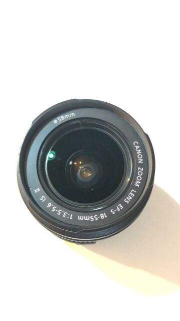 *NO AF FOR PARTS* Canon EF-S 18-55mm f/3.5-5.6 IS II Lens *AS IS*