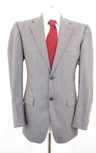 Cinque Anzug Gr.98 grau Nadelstreifen Einreiher 2-Knopf -C68