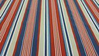 Fryetts Stellar Stripe Blue Curtain Craft Upholstery Quilting Designer Fabric