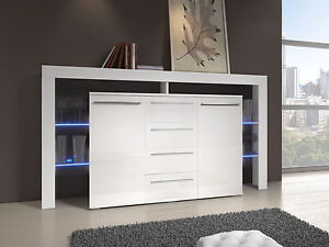 Charmant Image Is Loading MODERN LIVING ROOM SIDEBOARD CUPBOARD CHEST OF DRAWERS