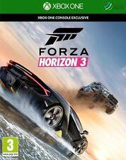 Forza Horizon 3 Xbox One * NEW SEALED PAL *