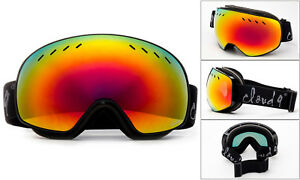 Snow-Ski-Goggles-Snowboarding-Double-Lens-Anti-Fog-Mens-Womens-w-Pouch-Cloud-9