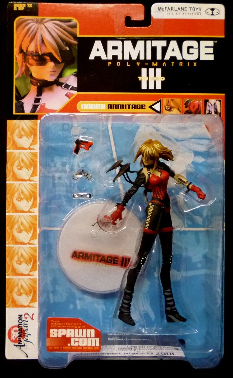 3D Animation Japan Series 2 Anime Anime Anime 6 Figure Set New 2001 Special Price McFarlane ac55d2