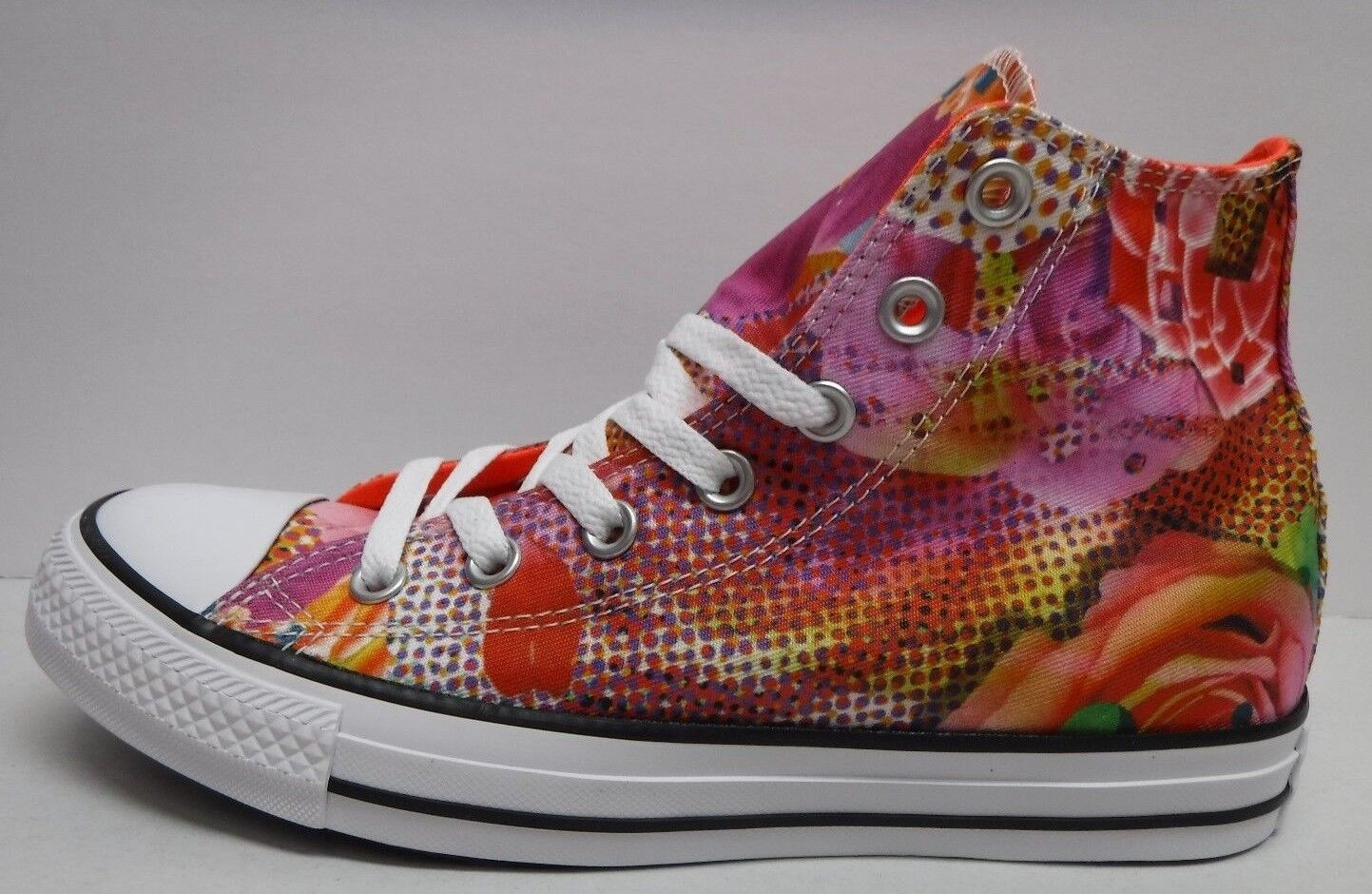 Converse All Star Size 7.5 Floral Hi Top Sneakers New Womens Shoes