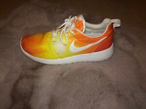 Sunset Orange Yellow White Nike