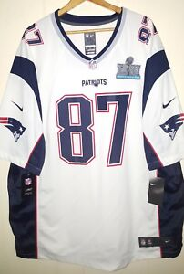 NIKE NFL New England Patriots Gronkowski  87 Super Bowl LII Jersey ... 801941fa8