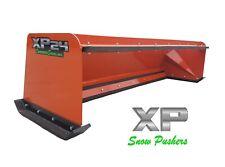 8 Xp24 Kubota Orange Snow Pusher Withpullback Bar Skid Steer Loader Local Pickup