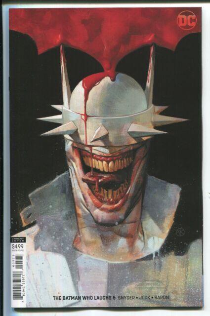 THE BATMAN WHO LAUGHS #5 VIKTOR KALVACHEV VIRGIN ART VARIANT COVER - DC/2019