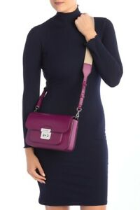 NWT-MICHAEL-KORS-Sloan-Editor-Large-Leather-Shoulder-Bag-298-Garnet