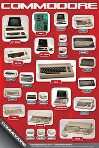 History-of-Commodore-Computers-Poster
