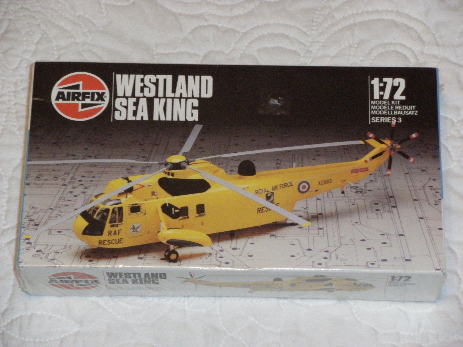 Airfix Westland Sea King 1 72 Scale Model Kit (sealed) Vintage 1986