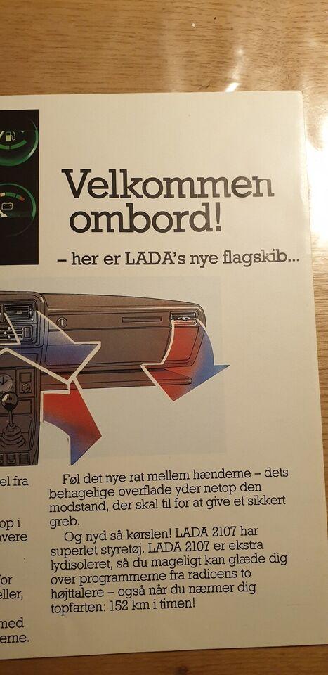 Brochure, Lada 2107