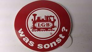 * Original LGB 8.5 cm Diameter Window Sticker 03 - Was sonst (PL)