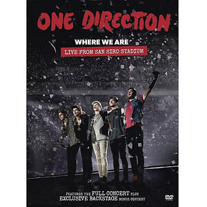 One direction 1D Where we are Live from San Siro Stadium NTSC DVD New - <span itemprop=availableAtOrFrom>Sutton Coldfield, West Midlands, United Kingdom</span> - Returns accepted Most purchases from business sellers are protected by the Consumer Contract Regulations 2013 which give you the right to cancel the purchase withi - Sutton Coldfield, West Midlands, United Kingdom