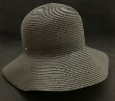 1f3a85fbd6b Betmar Women s Gossamer Braided Black One Size Sun Hat Wide Brim Packable