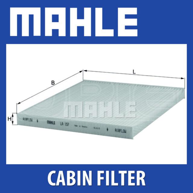 Genuine MAHLE Replacement Interior Air Cabin Pollen Filter LA 157 LA157