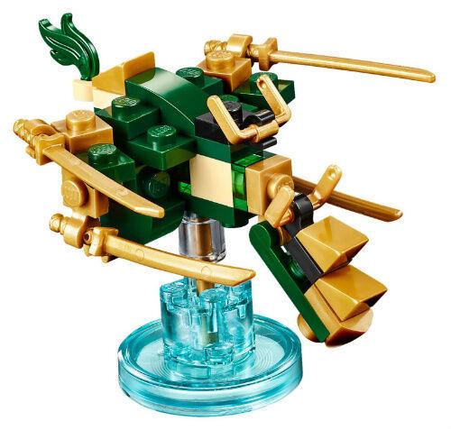 Lego Lloyds Golden Dragon 71239 Ninjago Dimensions Figure With Base