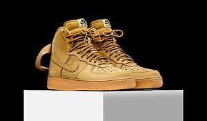 Details about Nike Air Force 1 High 'Wheat Flax' Brand New 882096 200 Sizes 7, 8, 9, 10, 11 12