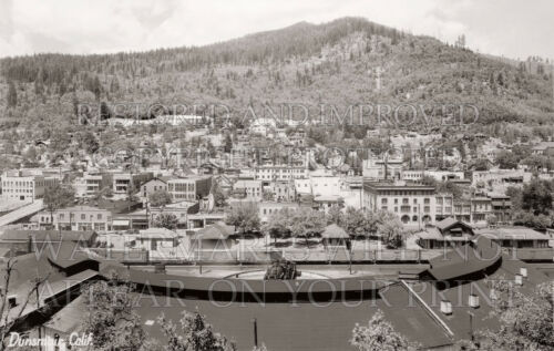 Dunsmuir California CA birds-eye views 1930s photos 5x7s or request one 8x10 or