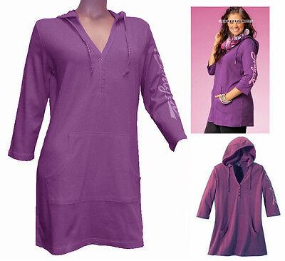 Early 20 Longshirt hoodie fuchsia Gr. 44/46 Neue Damenmode 543596