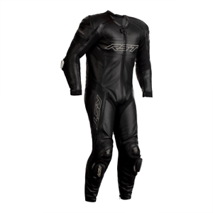RST-Tractech-Evo-R-Leather-Motorcycle-1-One-Piece-Suit-Black-NEW