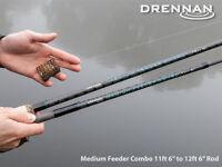 Brand Drennan Medium Feeder Combo Rod 11ft 6in To 12ft 6in