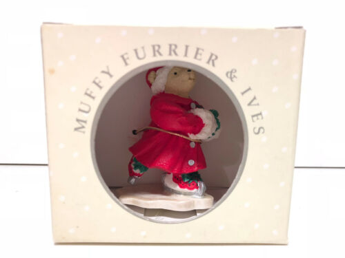 MUFFY ~FURRIER /& IVES~ CHRISTMAS ORNAMENT ~ NEW IN BOX ~