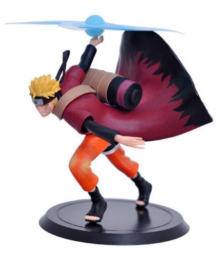 2 pcs Naruto Shippuden Uzumaki Wind Style /& Pain Akatsuki Figures Set Statue Toy