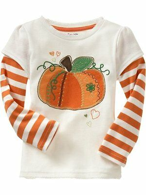 New Cute Baby/Toddler Girls  Long Sleeve Top Size: 1 (12-18M)